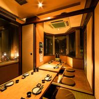 【池袋西口】プライベートから宴会まで個室ご用意