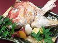 料理メニュー写真鯛かぶと塩焼