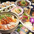 名物「白ハマグリの土鍋蒸し」や「てこね寿司」がついたコースは全12品、120分飲み放題付きで5000円!!旬の野菜と魚をたっぷりとお楽しみ頂ける大満足間違いなしのお料理内容です。※画像はイメージです。