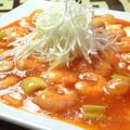 料理メニュー写真エビのトマトチリソース