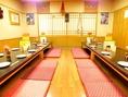 最大35名様までの宴会席♪本格カレーで各種宴会や子供会などでも気軽に使える宴会個室です。
