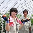 生徒さんからのコメント『私たちが作った兵庫県の新鮮な食材をご堪能ください!!』