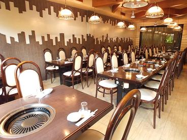焼肉 レストラン ソウルの雰囲気1