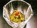 料理メニュー写真くらげと椎茸と胡瓜の酢の物
