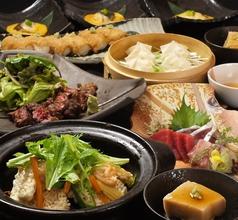 土鍋焼き海鮮おこげコース 全8品 飲み放題付き3500円
