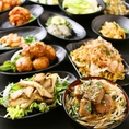 ステーキ丼やチャーハン、刺身、揚げ物、おつまみ等!なんでも食べ放題!!
