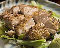 芋鶏の一枚焼き