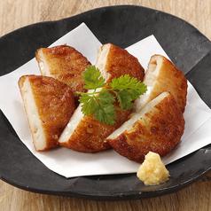 淡路島産玉葱のさつま揚げ 生姜だし醤油で