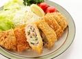 料理メニュー写真トンカツ餃子