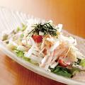 料理メニュー写真大根の梅かつおマヨネーズのサラダ仕立て