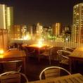 素敵な夜景を見ながら美味しいお食事を…