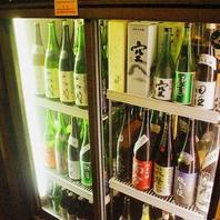 日本酒は全て貯蔵庫で保管
