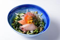 料理メニュー写真海鮮まぜまぜサラダ
