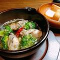 料理メニュー写真広島産カキのアヒージョ