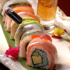 華やか旨いどころ巻き寿司 色とりどり