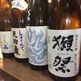 日本酒も豊富に取り揃えてます
