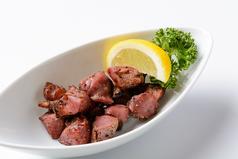 料理メニュー写真砂ずりの黒胡椒焼き