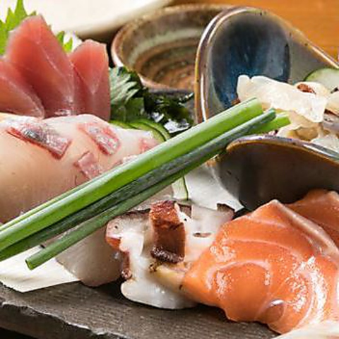 伏見3分♪オフィス街の隠れ家★自慢の魚料理を落ち着いた空間でお楽しみいただけます!