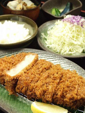 特選赤城銘柄豚福豚ロースカツ定食
