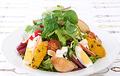 料理メニュー写真グリルチキンとかぼちゃのサラダ~りんごヨーグルトのドレッシング~
