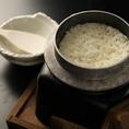 当店は『牛肉』だけでなく、『米』『野菜』にもとことんこだわります!料理に使用する『米』『野菜』は契約農家から新鮮な無農薬のものを仕入れ、お肉同様丁寧に調理しています。細やかな部分にまでこだわった料理はどれも絶品!ぜひ一度ご賞味ください♪