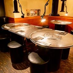 清潔感があって、女性同士でも入りやすい店内です。賑やかにも、ゆったりお食事をたのしむにも◎各種宴会にも対応しております。