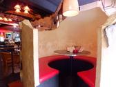 半個室の円卓席。皆でテーブルを囲みゆったり過ごせます♪女子会、誕生日会などに人気です♪事前予約がオススメです!