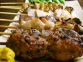 料理メニュー写真正肉/皮/砂肝/レバー/ネギま/ナンコツ