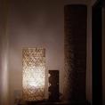 間接照明が雰囲気の良い空間を作り出している落ち着いた雰囲気の店内。デートでのご利用にもぴったりです。個室の様な空間もあるので事前にお問い合わせください