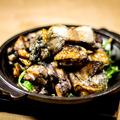 料理メニュー写真熟成鶏の炭火焼き 大
