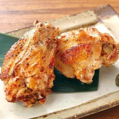 料理メニュー写真鶏手羽の塩だれ焼