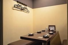 半個室テーブル6名