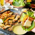 料理メニュー写真チーズdeサムギョプサル