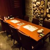 人気の個室席。ご予約はお早めに!