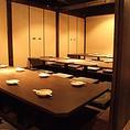【京橋】様々なシーンに♪当店自慢の完全個室へ【個室】