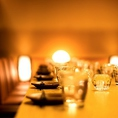 -大人気のテーブル個室あり◎デートや接待利用に-池袋にひっそりと佇む当店は都会の喧騒を忘れさるかのような上品で優雅な個室を完備しております!また、インテリアや照明での演出にもこだわった店内は間接照明の光に照らされたリラックス空間です◎上質なお食事とお酒を心ゆくまでご堪能ください!