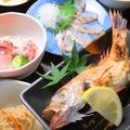料理メニュー写真特選☆のど黒定食!