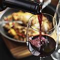 豊富なワインで乾杯!ワインリストからお気に入りの1本を見つけて♪名古屋駅/居酒屋/個室/肉バル/単品飲み放題/飲み会/女子会