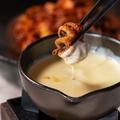料理メニュー写真チュクミ&チーズフォンデュ