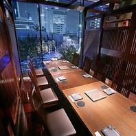 眺めの良い開放的な空間でお食事を♪