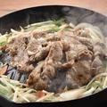 料理メニュー写真名物!ジンギスカン鉄板焼き