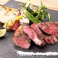 料理メニュー写真黒毛和牛のステーキ(120g)