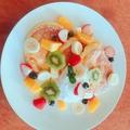 料理メニュー写真【季節のフルーツたっぷり☆】季節のフルーツパンケーキ