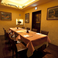 ご家族やカップルでのお食事にぴったりの個室です。