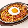 料理メニュー写真炒めスパゲティ「ナポリタン」