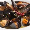 料理メニュー写真ムール貝のヒューガルデン蒸し