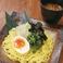 特製もりそば濃厚鶏魚介スープ (温もり・冷もり)