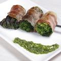 料理メニュー写真仙台小ネギの肉巻き