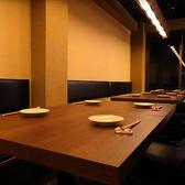 木製のテーブル席でゆっくりとご宴会をお楽しみ下さい♪