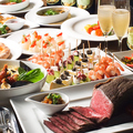 料理メニュー写真アラカルト料理だけでなくコースも豊富!